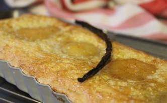 vanilla pear tart